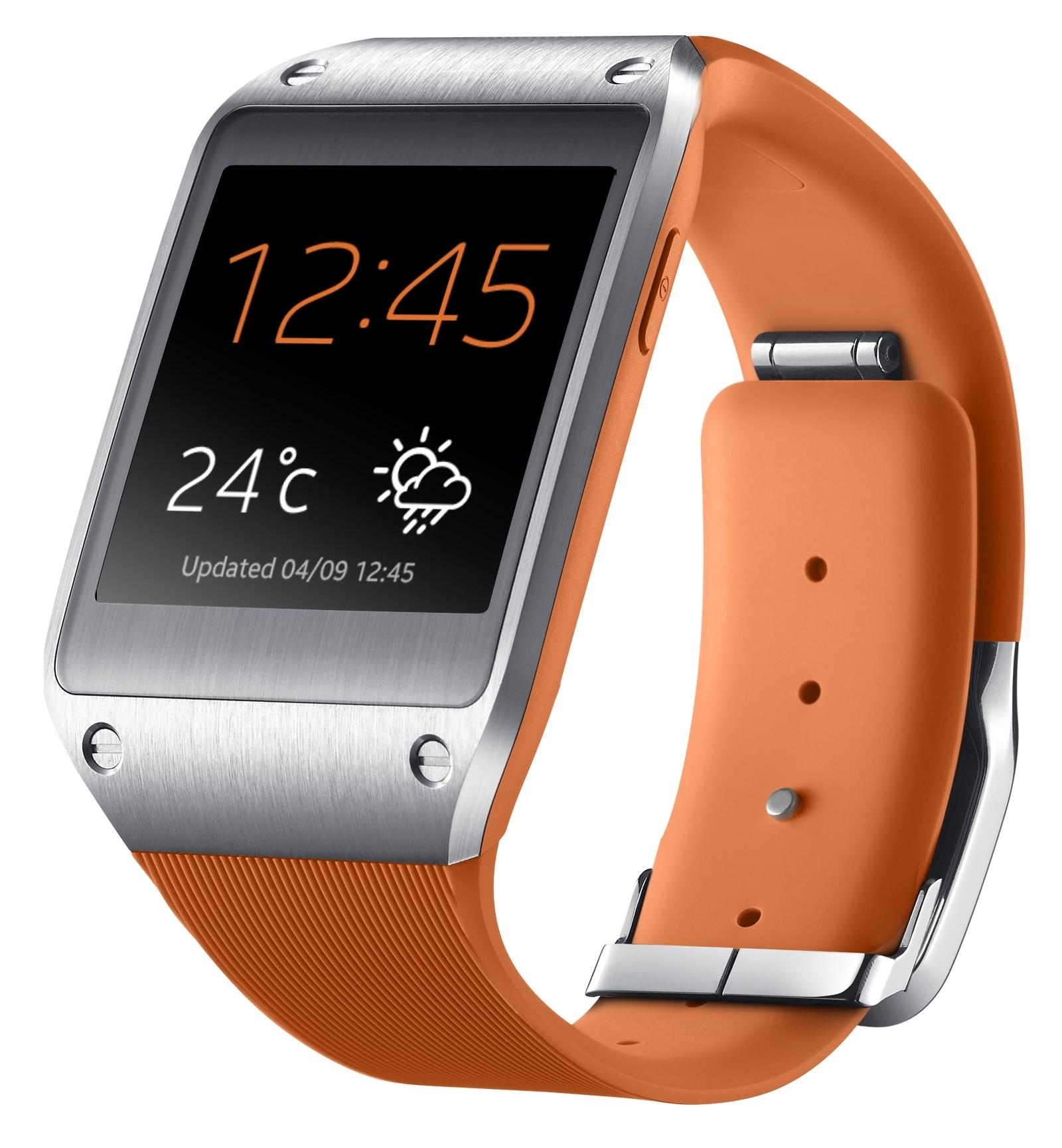 [Update] Samsung Galaxy Gear €139,99 bij Coolblue, in zwart, lime, beige en oranje
