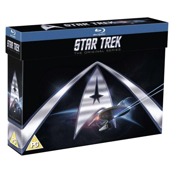 Star Trek: Original Series - Complete Boxset (20 discs) (Blu-ray) voor € 52,25 @ Zavvi
