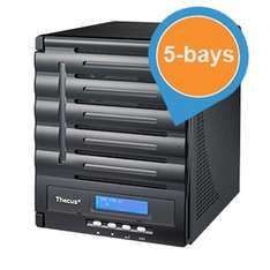 Thecus N5550 5-bay NAS Server voor € 328,90 @ iBOOD