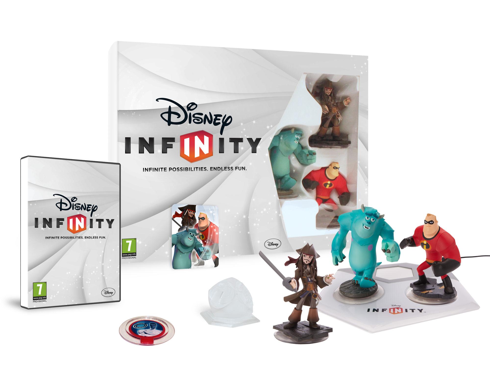 1+1 gratis op Disney Infinity producten @ Intertoys