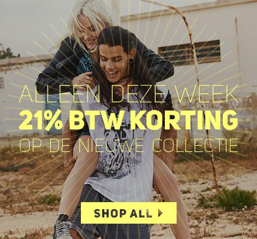 Alleen deze week 21% btw korting op de nieuwe collectie @ Vimodos