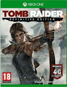Tomb Raider: Definitive Edition (Xbox One) met artbook voor €33