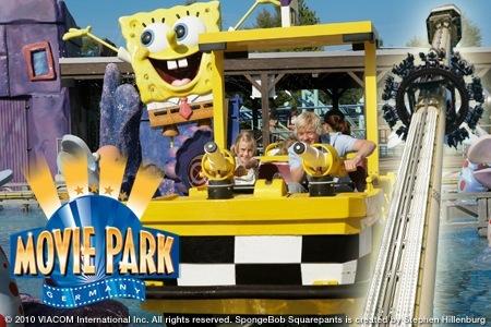 Waardebon voor tweede kaartje gratis op Moederdag @ Movie Park Germany