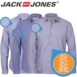 3 Jack & Jones Tailored overhemden (heren) voor € 45,90 @ iBOOD
