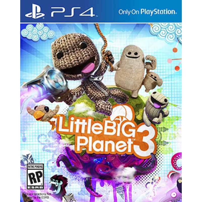 Little Big Planet 3 (PS4) (Download Code) voor €17,80 @ BoxedDeal