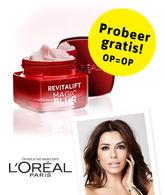 Gratis sample L'Oréal Paris Revitalift Magic Blur
