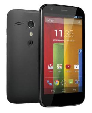 Motorola Moto G (8GB) (zwart) voor € 130,- @ GSMweb.nl