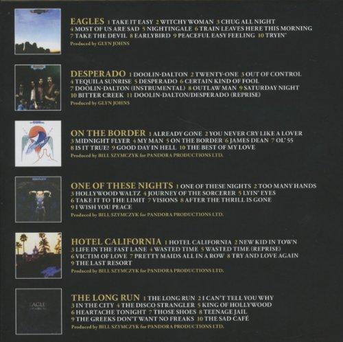 Eagles Studio Albums 1972-1979 Boxset voor €21