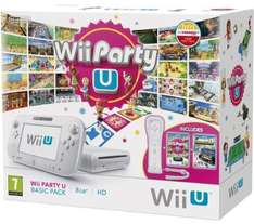 Wii U console 8 GB Basic Pack  met Wii Party U + WiiMote + NintendoLand  voor €196,59 @ Amazon.it
