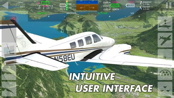 Gratis aerofly FS - Flight Simulator (iOS) @ App Store