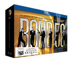 James Bond - 50th Anniversary Collection (Blu-ray) voor € 105,59 @ Amazon.fr