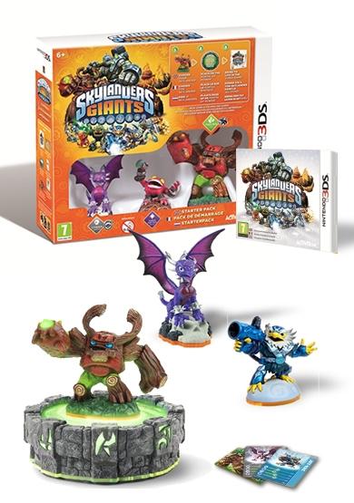 Skylanders Giants - Starter pack (3DS) voor € 20 @ Bart Smit