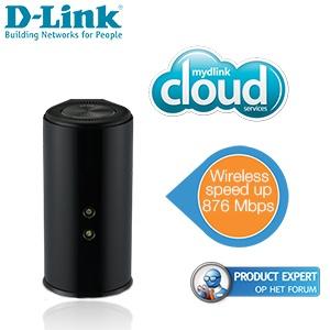 D-Link DIR-860L AC1200 router voor € 75,90 @ iBOOD