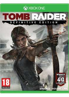 Tomb Raider Definitive Edition (Xbox One) (Limited Digipack Version) voor € 30,95 @ Base.com
