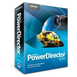 Gratis PowerDirector 11 (video editing software) @ Cyberlink
