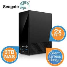 Seagate Business Storage 1bay NAS met 3TB HDD	 voor €136
