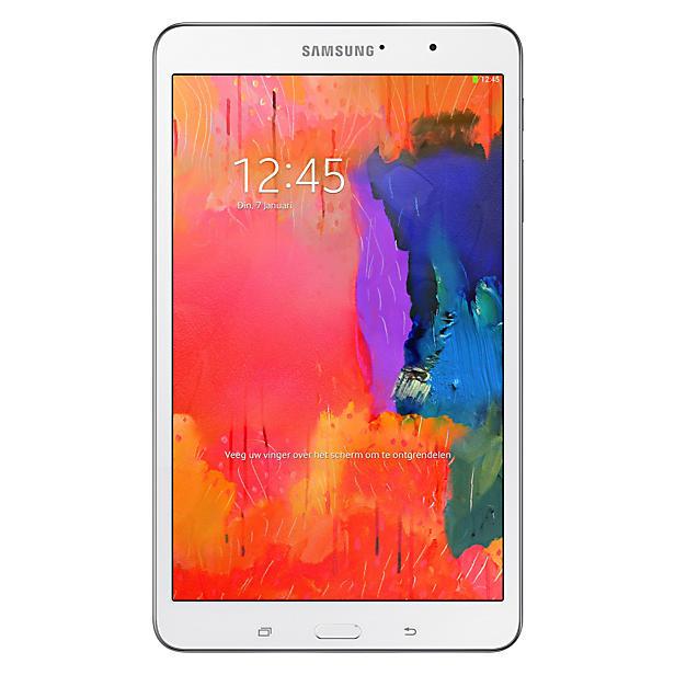 Samsung Galaxy tablet TabPro 8.4 (wit) voor € 239 @ Wehkamp