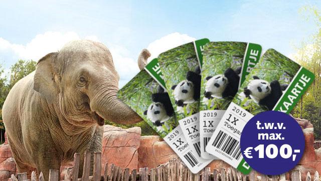 Gratis 4 Kaartjes Dierentuin Bij Meespelen Bankgiro Loterij