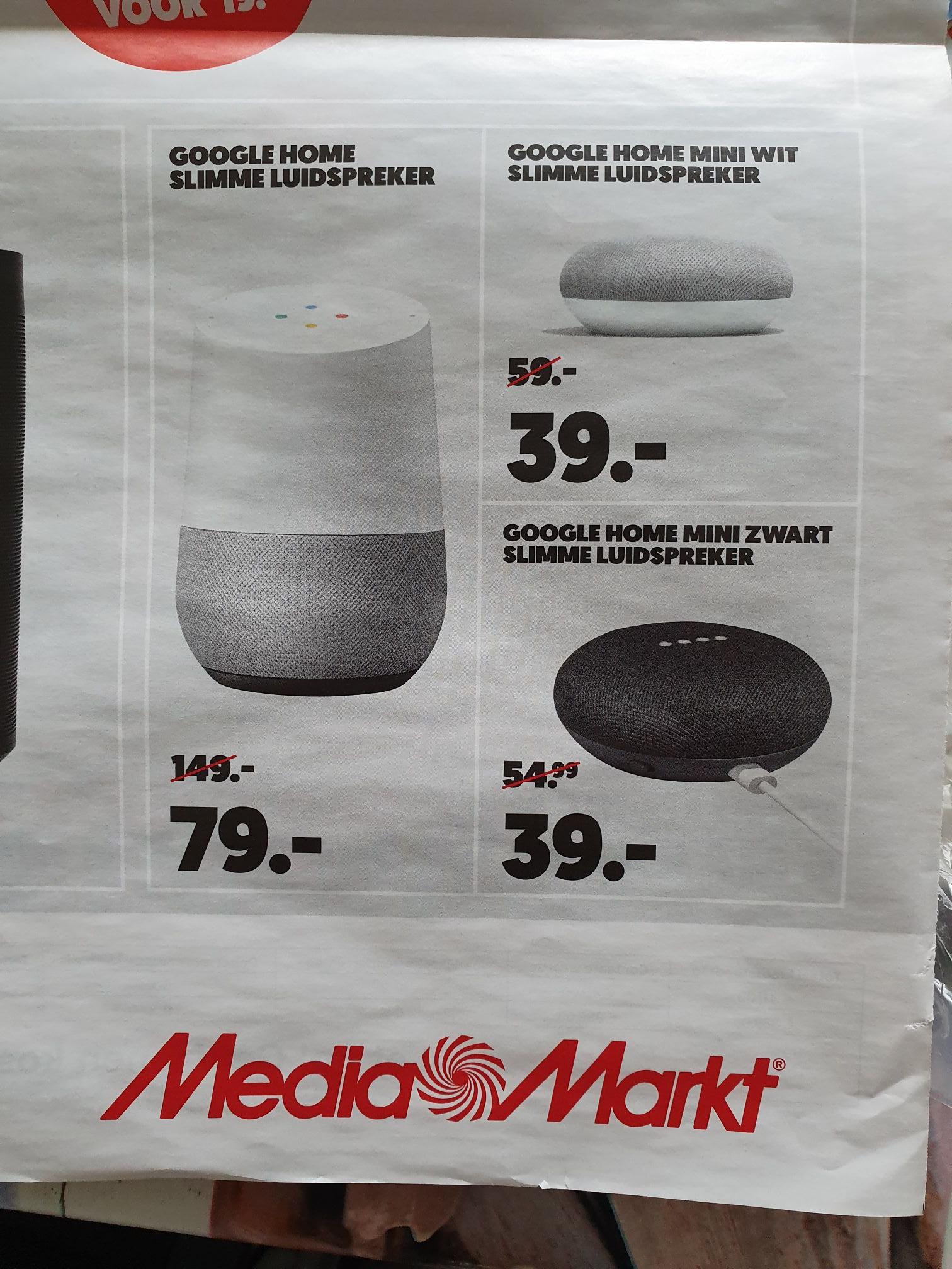 181701afb7346f Google home en Google home mini aanbiedingen MediaMarkt - Pepper.com