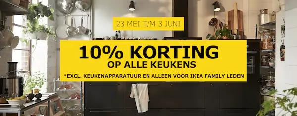 Ikea 10 Korting Op Keukens Peppercom