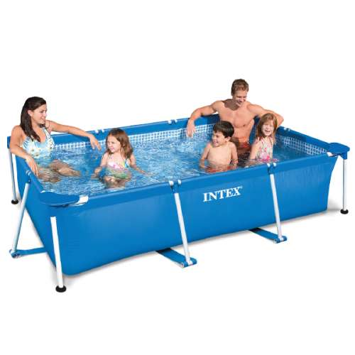Intex frame pool zwembad 300 x 200 x 75 cm 28272np for Frame zwembad aanbieding