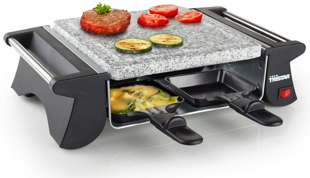 tristar ra 2990 raclette steengrill voor 10 media markt. Black Bedroom Furniture Sets. Home Design Ideas