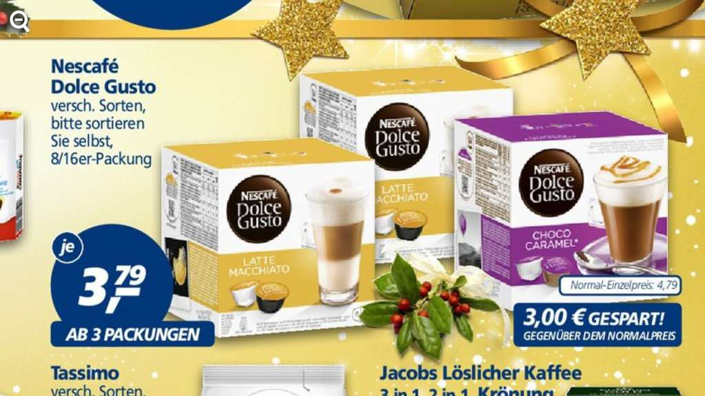 Dolce gusto capsules duitsland