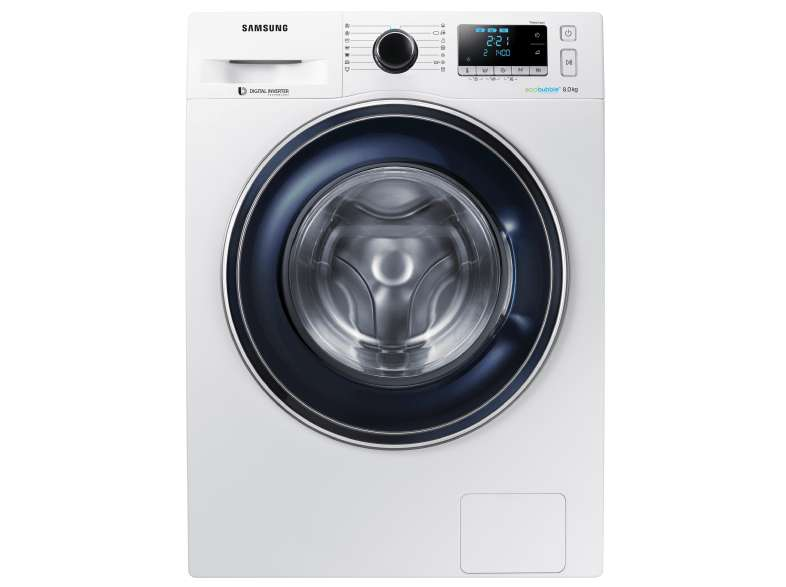 samsung ww80j5426fw en a eco bubble wasmachine. Black Bedroom Furniture Sets. Home Design Ideas