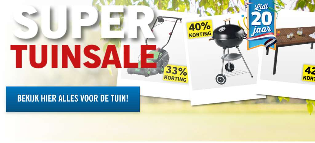 super tuinsale lidl. Black Bedroom Furniture Sets. Home Design Ideas