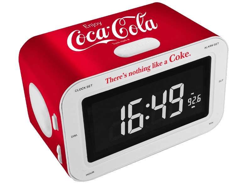 bigben wekkerradio rr30 coca cola voor 17 media markt. Black Bedroom Furniture Sets. Home Design Ideas