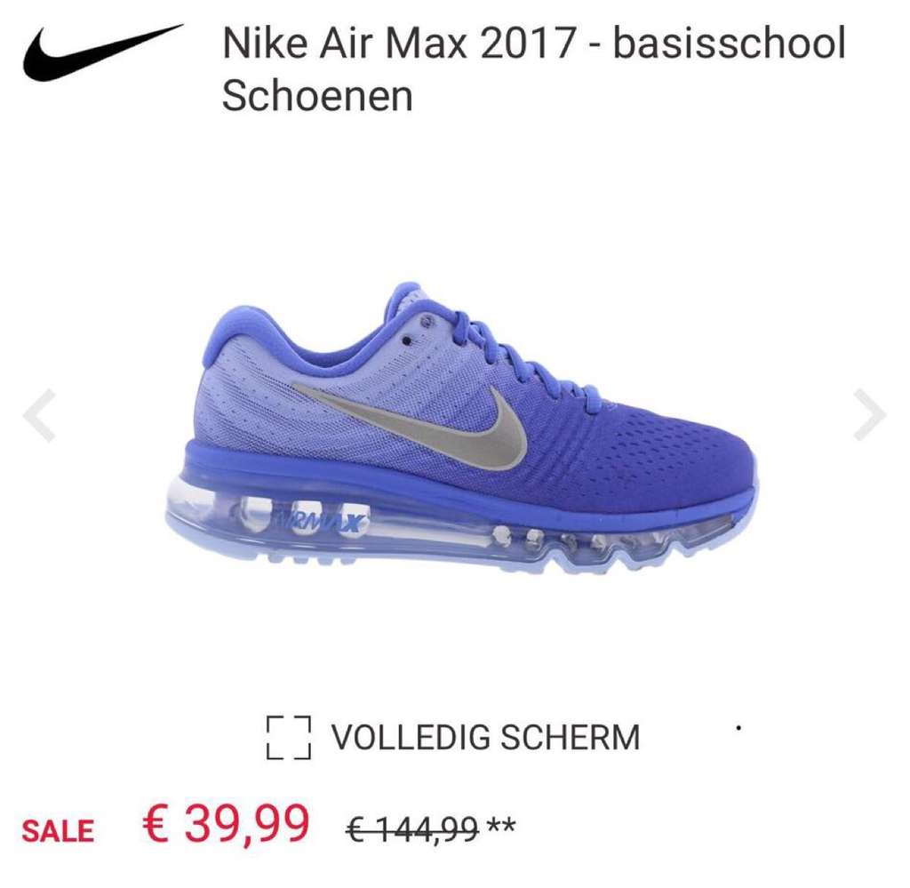 nike air max 2017 dames footlocker