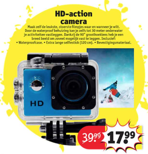 Hd Action Camera Kruidvat Peppercom