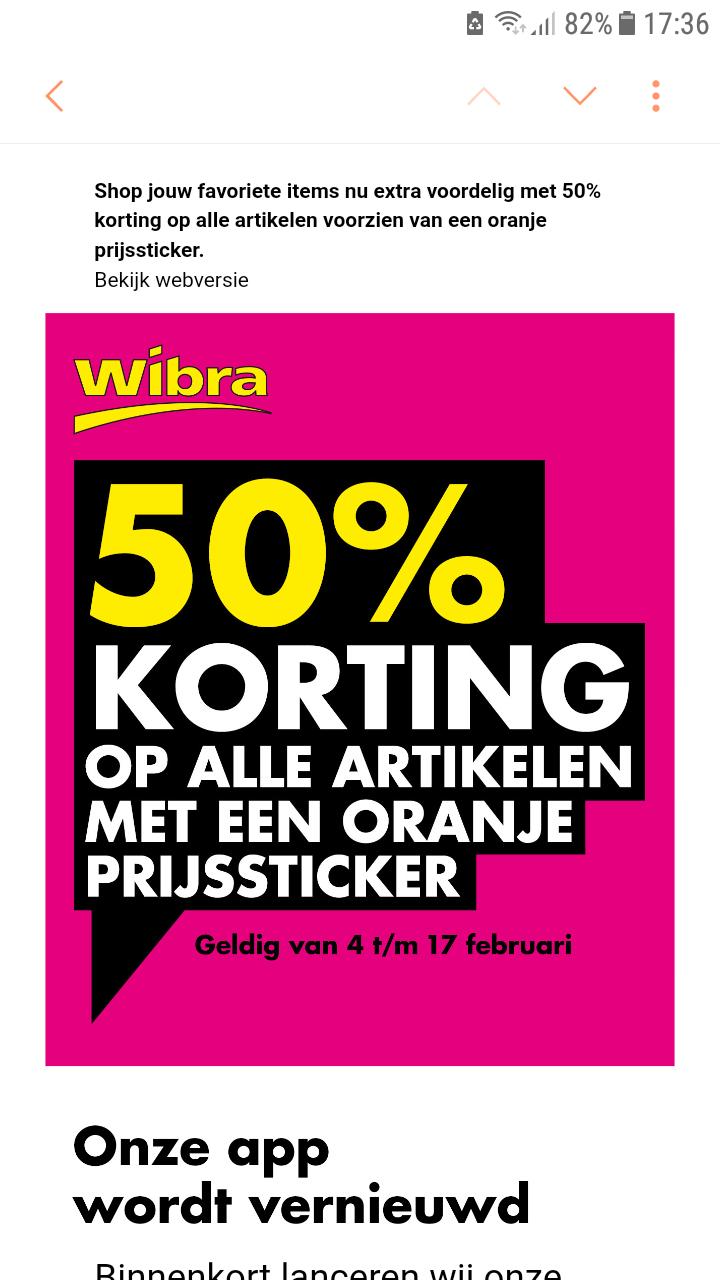 Wibra Aanbiedingen & Kortingen voor augustus 2018 - Pepper.com