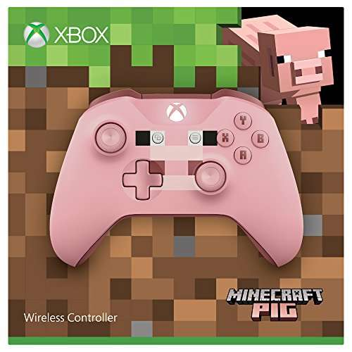 xbox one wireless controller minecraft pig pink limited. Black Bedroom Furniture Sets. Home Design Ideas