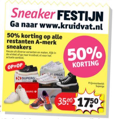 Kruidvat converse sneakers