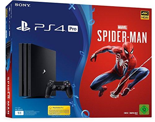 playstation 4 pro 1tb spider man bundel voor 399 amazon. Black Bedroom Furniture Sets. Home Design Ideas