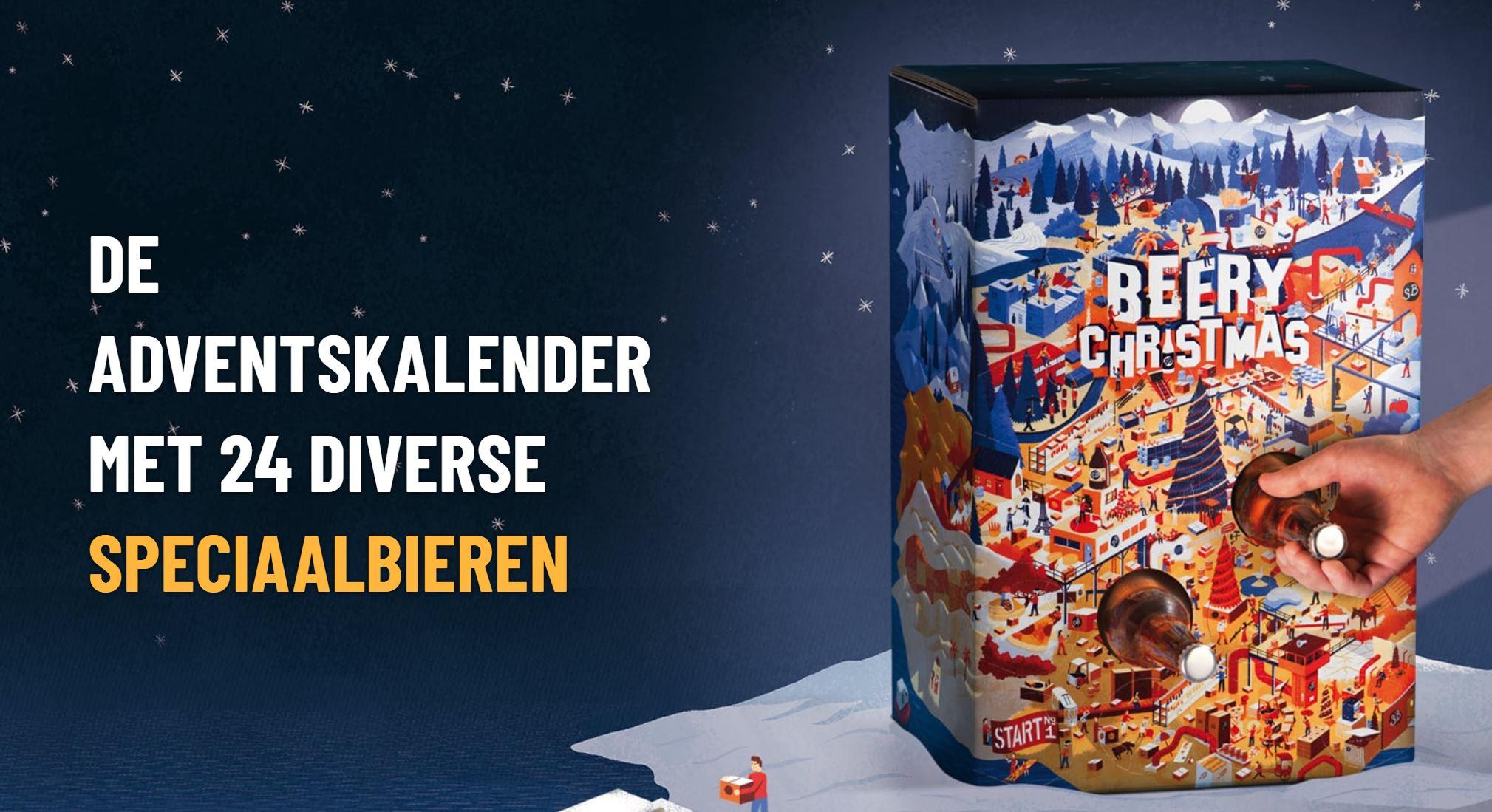 Beery Christmas: een adventskalender met 24 speciaalbieren!