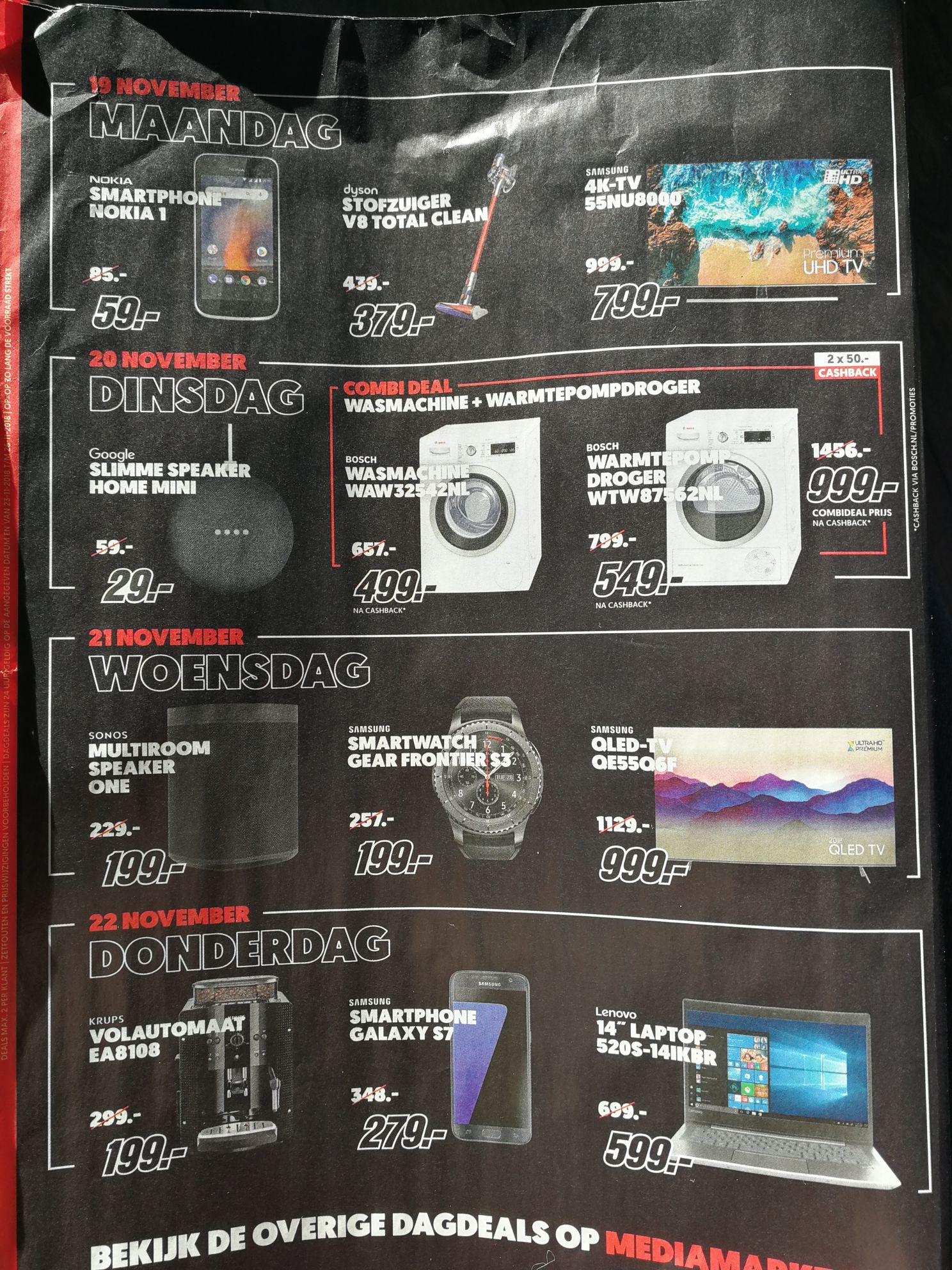 black friday dagdeals media markt. Black Bedroom Furniture Sets. Home Design Ideas