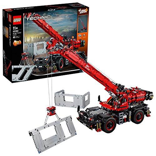 lego technic kraan voor alle terreinen 42082. Black Bedroom Furniture Sets. Home Design Ideas