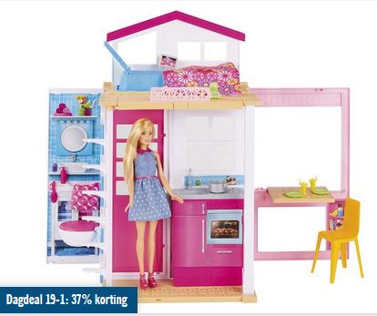 Voor barbie fans dagdeal huis pop 37 type dvv48 for Barbiehuis aanbieding