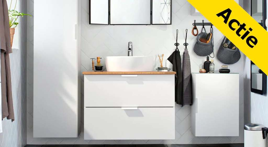 ikea 10 15 op godmorgon badkamermeubels en spiegels. Black Bedroom Furniture Sets. Home Design Ideas