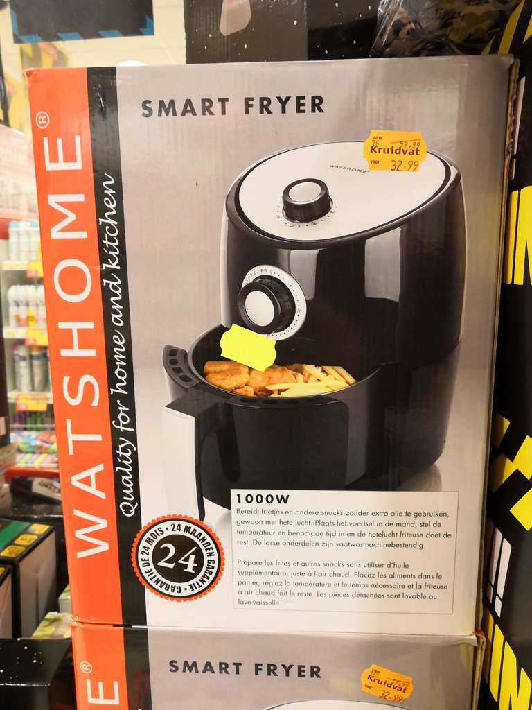 Lokaal watshome smart fryer kruidvat for Kruidvat den bosch