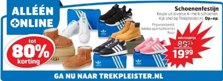 d92d1f31438 Tot 80% korting op diverse A-merk schoenen @Trekpleister - Pepper.com