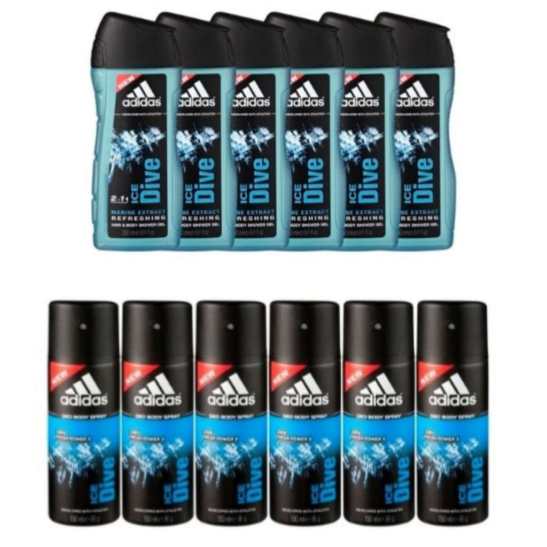 5f215f9553b 6 x 250ml Adidas douche of deodorant voor €6,00 (€1,00 per stuk!!) @Kruidvat  - Pepper.com