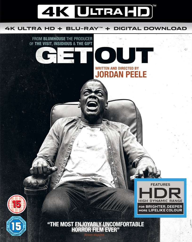 Get Out - 4K Ultra HD (Incl. Digital Download) (Blu-ray) - Pepper.com