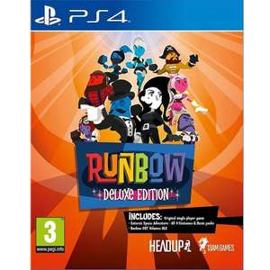Runbow Deluxe Edition (PS4) @ Coolshop