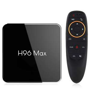 H96 max X2 android tv box