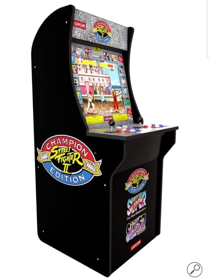 Arcade1UP Street Fighter 2 – Retro Arcadekast - bol.com