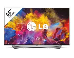 LG 55UF950V Ultra HD 3D Smart-TV voor €1999 (+ gratis cadeau t.w.v. €399) @ Platte TV Discounter