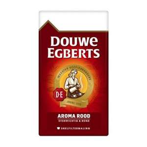 Douwe Egberts koffie 2*500g of 108 pads @Dirk